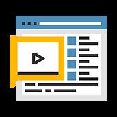 Virtual Webinar Icon