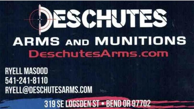 Deschutes Arms and Munitions
