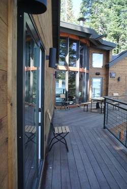 Exterior of Remodeled West Shore Cabin