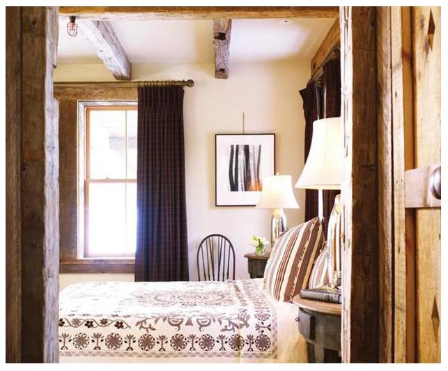 Sugar Bowl Rustic Cabin Bedroom