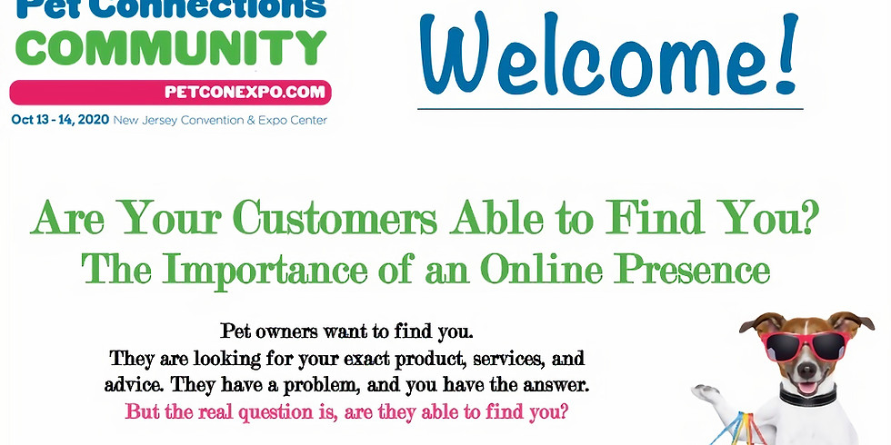 """""""Are Your Customers Able to Find You?"""""""