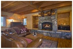 Silver Fir Cozy Fireplace