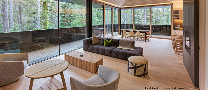 Modern Custom Tahoe Home Living
