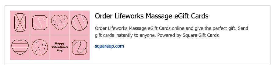 Amber Long, Lifeworks Massage, Spokane W