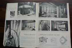Barrel Cabin Magazine Spread