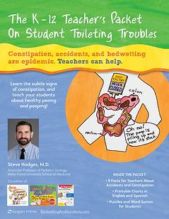 K-12 Teacher's Packet On Student Toileti