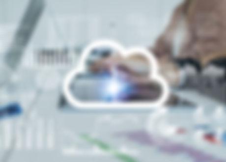 work meeting digital cloud technology