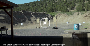 THE GREAT OUTDOORS: PLACES TO PRACTICE SHOOTING IN CENTRAL OREGON
