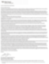 Pre-M.O.P. Letter