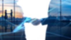 Bmi ERP Solutions partnership handshake image