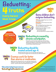 4 Truths About Bedwetting