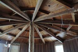 Barrel Ceiling Before Remodel