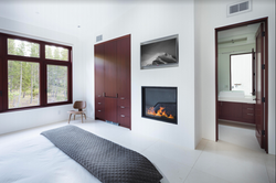 Remodeled Master Bedroom with Fireplace