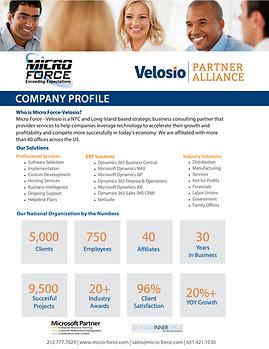 Micro Force Company Profile Brochure Image