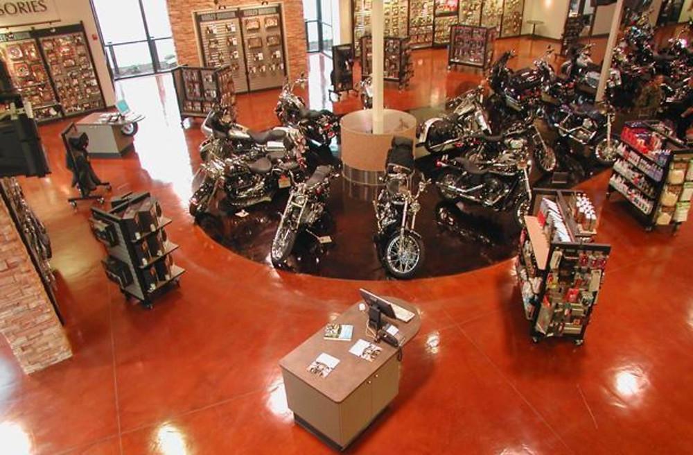 NW Harley Davidson Liquidtile™ Stonetop System