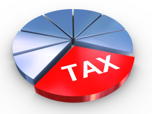 Taxes Pie - Depositphotos_10165714_300x225