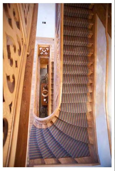 Sugar Bowl Retreat Stairs