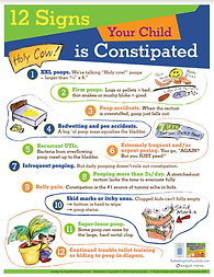 12 Signs Your Child is Constipated
