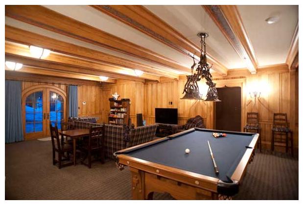 Sugar Bowl Retreat Game Room