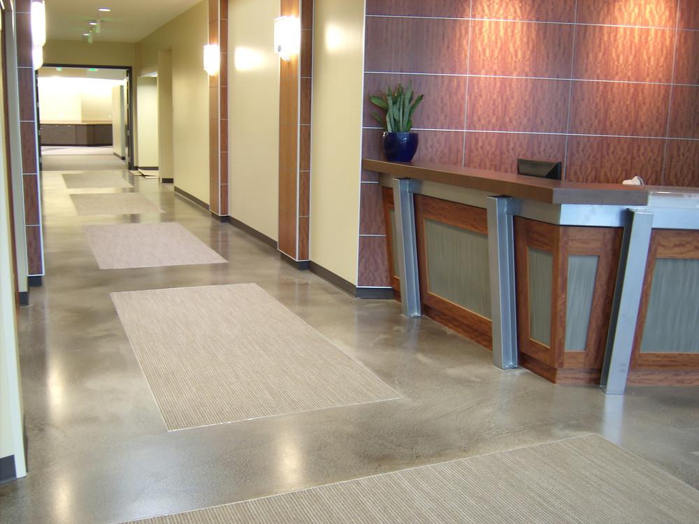 Kiewit Corporation's Office Remodel Liquidtile™ Stonetop System