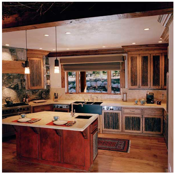 Mountain Hideaway Kitchen