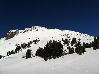 Sierra Nevada Splitboarding Lassen Peak