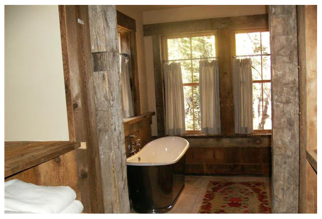 Sugar Bowl Rustic Cabin Bath