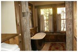 Sugar Bowl Rustic Cabin Bath