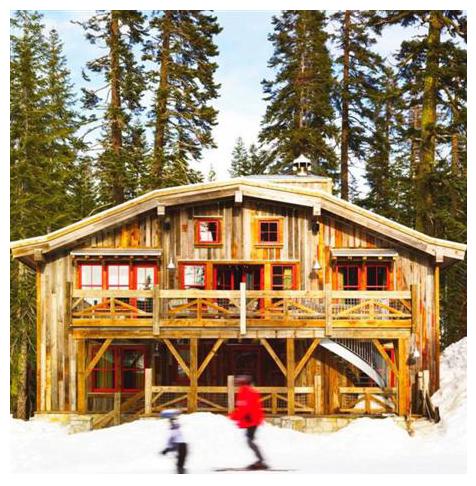 Sugar Bowl Rustic Cabin Exterior