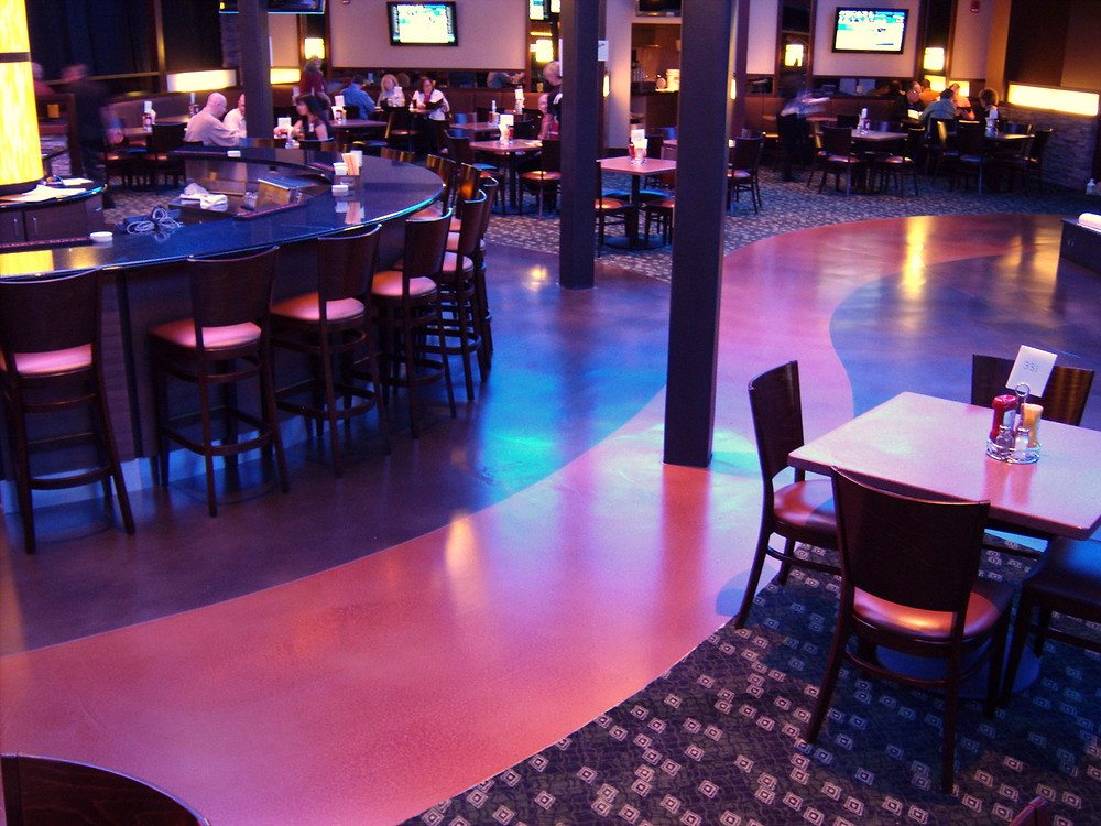 Spirit Mountain Casino Liquidtile™ Level System with Liquidtile™ Eco-Dye Coloration