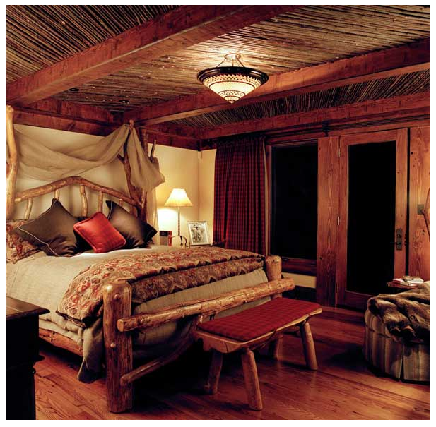 Mountain Hideaway Bedroom