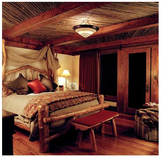 Mountain Hideaway Bedroom
