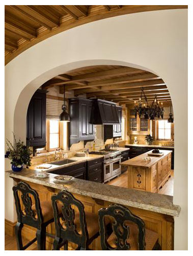 Sugar Bowl Retreat Kitchen