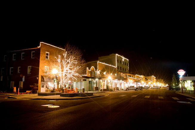 Starlight Tahoe Professional Holiday and event lighting Town of Squaw Valley California