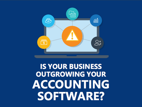 Tell-tale signs your business is ready for a more comprehensive business management solution.