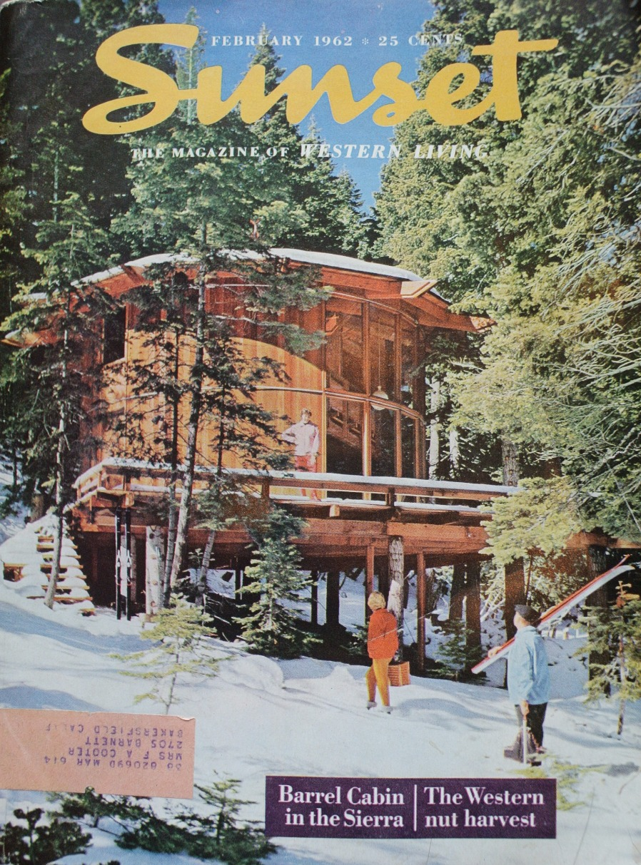 1962 Barrel Cabin Magazine Feature