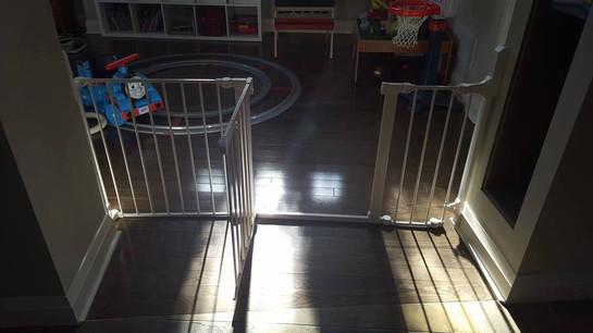 Playroom gate