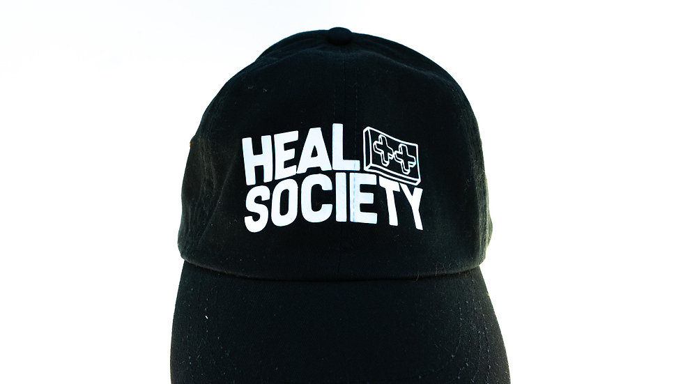 """Heal Society"" cap"