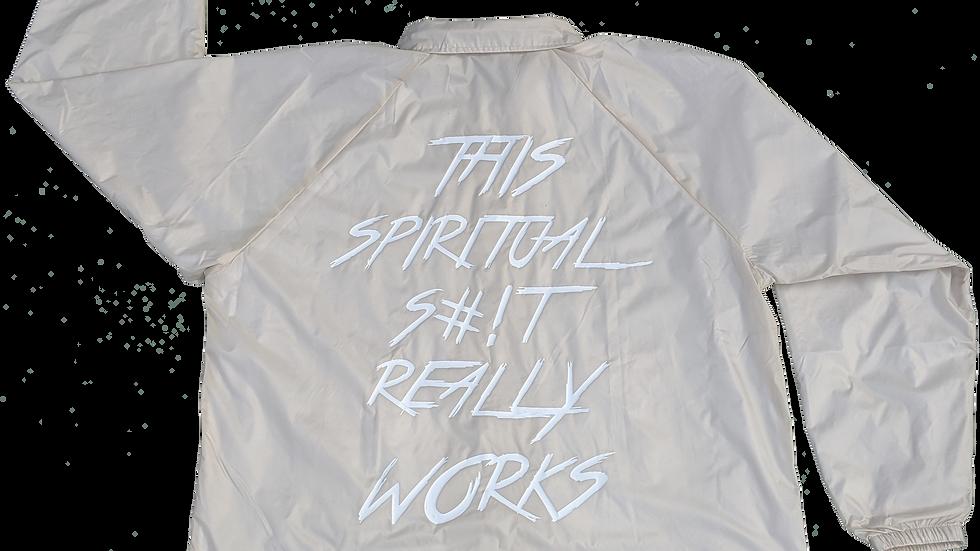 Spiritual Works Coach's Jacket.