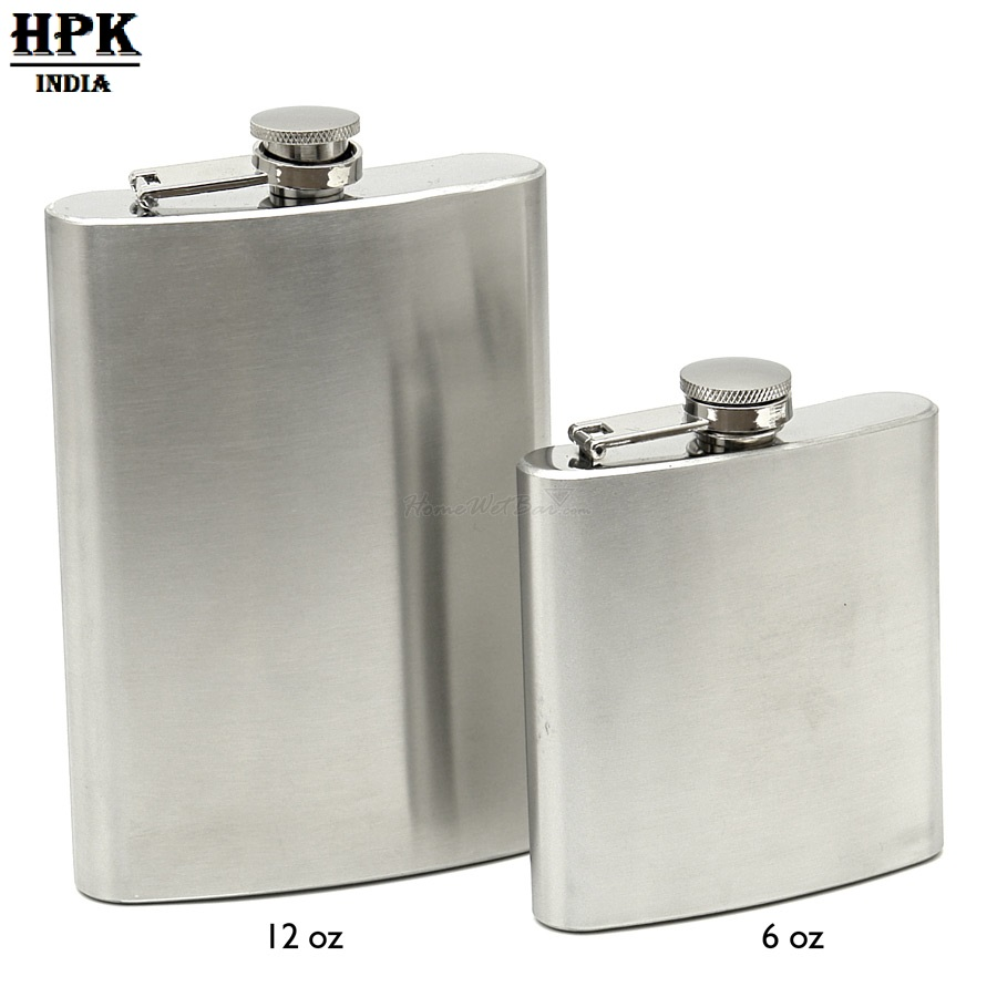 HPK DOUBLE HIP FLASK