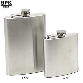 Corporate gift set of hip flask 6