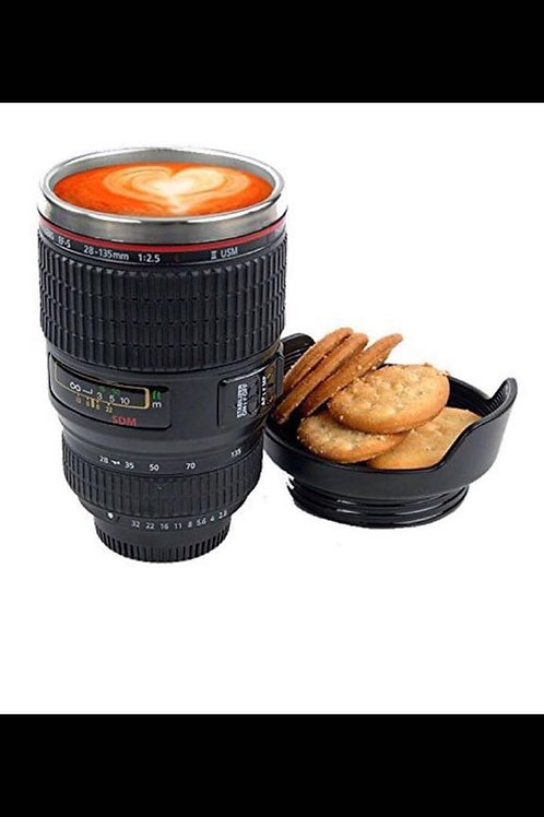 New Camera lens style thermostat coffee cup with t