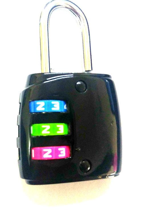 Pad lock for bags & locker's