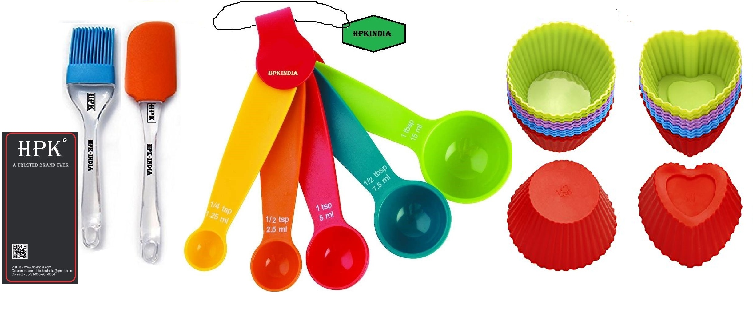 hpk-Baking-Measurement-Measuring-spoons-pastry brush and spatula heart and round molds Set