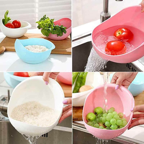 vegetable rice and fruit washer pot