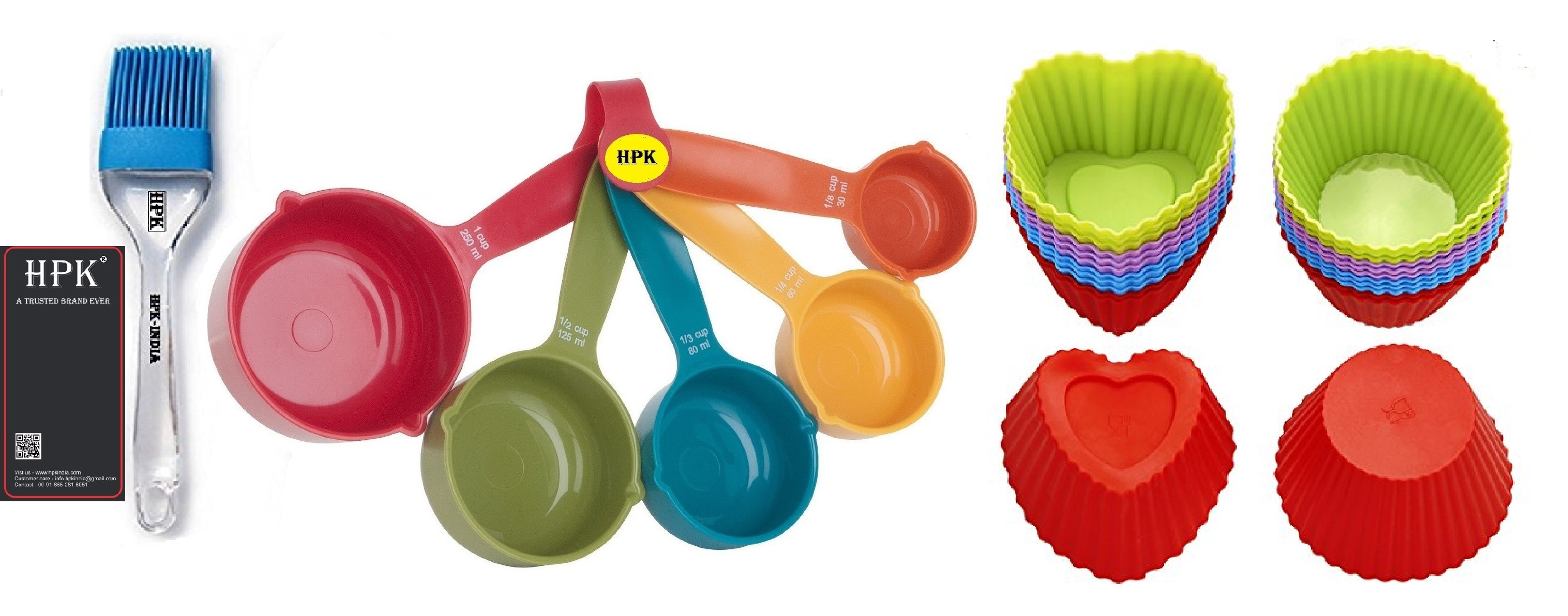 hpk-Measurement-Measuring-Cups-And-Spoons-with-pastry brush heart and round mold