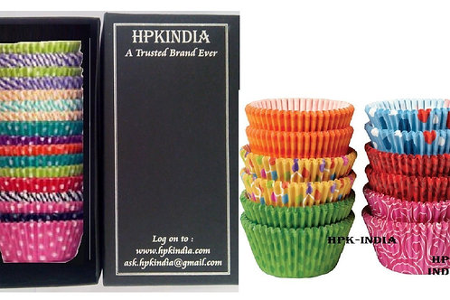 200 pcs HPK-INDIA Baking Cups Paper Liners
