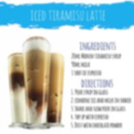 Ice Tea Mojito mocktail cocktail Latte