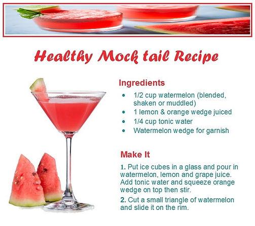 Mojito mocktail cocktail