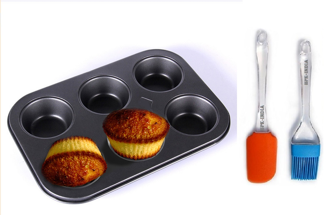 hpk-Non-stick-Cupcake-Baking-Tray-Muffin-Pan-With-6-Cubes-Flat-Round-Cake